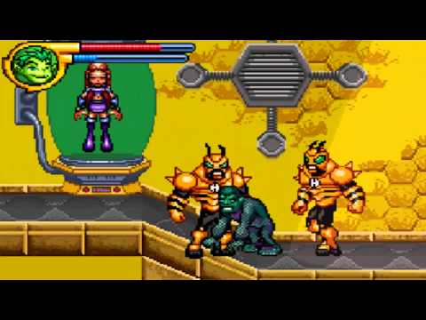 Let's Play Teen Titans GBA - Pt 15 1/2: The Clone Army showd