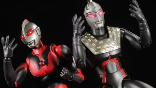 getlinkyoutube.com-Ultra-Act Ultraman Dark & UltraSeven Dark Review
