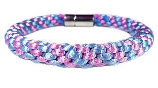"""getlinkyoutube.com-DIY: Kumihimo blacelet / Браслет """"Кумихимо"""" из 8 нитей своими руками. Как сделать """"Кумихимо"""" диск."""