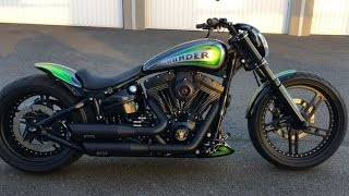 getlinkyoutube.com-Best Custom Harley Davidson Softail Breakout (Pierre from Switzerland)