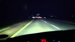 getlinkyoutube.com-Busted Speeding - 9 Mile Detection: Escort Redline + Valentine One 3.891 - I/O Ka 34.7