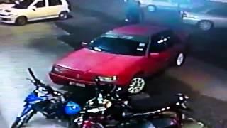 Pencuri motor yang gagal !!