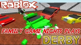getlinkyoutube.com-Family Game Nights Plays: Roblox Derby (PC)