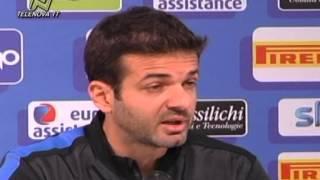"""Stramaccioni: """"Cassano-Sneijder insieme? Si, ma non sempre"""""""
