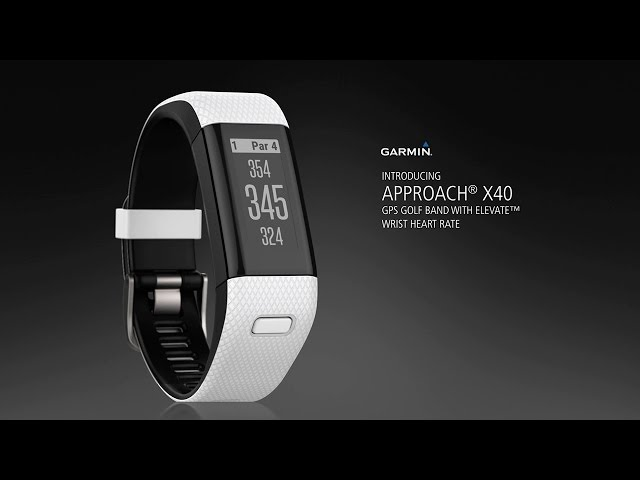 Test: Garmin Approach X40 – GPS-band för dig som vill ha koll på pulsen -Michael Broström