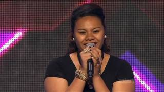 getlinkyoutube.com-Xfactor 2012 Aus Auditions Valencia Fesolai sings Natural woman