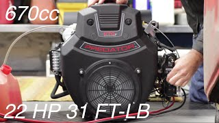 getlinkyoutube.com-22HP V-Twin on a $25 Go Kart Unboxing and Intro