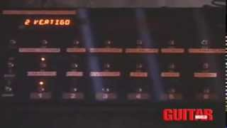 getlinkyoutube.com-U2 The edge's Vertigo tour guitar rack tour