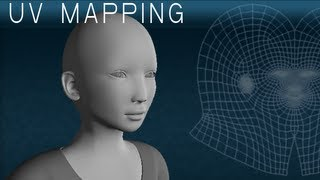 Human Head UV Mapping Tutorial in Maya