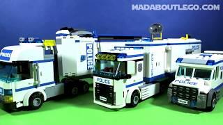 getlinkyoutube.com-LEGO CITY MOBILE POLICE UNIT 60044