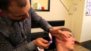 Hair Singeing By The Turkish Barbers Lucan Dublin Ireland
