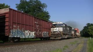 getlinkyoutube.com-Norfolk Southern Mainline Amalgam on the Harrisburg Line