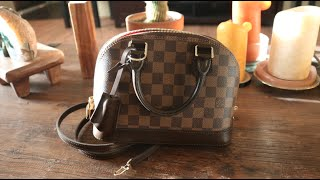 getlinkyoutube.com-Louis Vuitton Unboxing: Alma BB Review