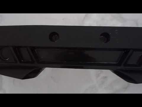 Видео обзор на передний бампер москвич 2141