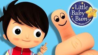 Where Is Thumbkin? | Nursery Rhymes | By LittleBabyBum!