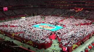 getlinkyoutube.com-FIVB 2014 Poland. Hymny Polska - Serbia