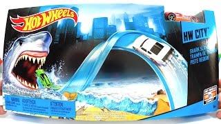 Hot Wheels Shark Slammer, Trampa de Tiburón ou Pista Requin Track set