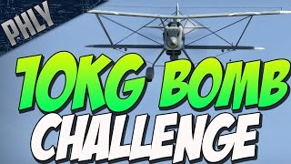 getlinkyoutube.com-10KG BOMB CHALLENGE - SMALLEST BOMB IN GAME!  ( War Thunder Gameplay)