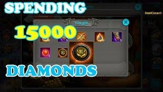 getlinkyoutube.com-Taichi Panda | Spending 15000 Diamonds