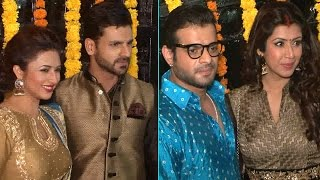 getlinkyoutube.com-Ekta Kapoor's Diwali Party 2016 | Divyanka Tripathi, Karan Patel & MORE
