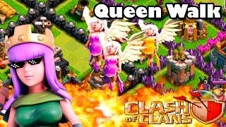 getlinkyoutube.com-Queen Walk   Clash of clans