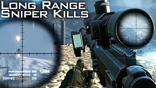 Battlefield 4: Long Range Sniping - 1415 meter Headshot