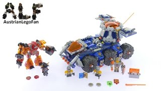 getlinkyoutube.com-Lego Nexo Knights 70322 Axl´s Tower Carrier - Lego Speed Build Review