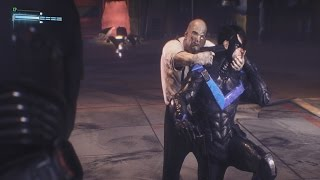 Batman Arkham Knight - Penguin Captures Nightwing