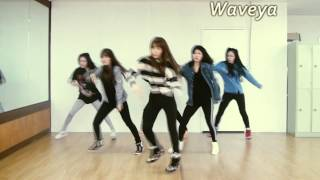 getlinkyoutube.com-TEEN TOP(틴탑) Waveya(웨이브야) Miss Right 긴 생머리 그녀 practice ver