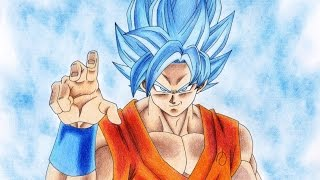 getlinkyoutube.com-RYO.K☆孫悟空 SSGSS/DRAWING GOKU SSGSS
