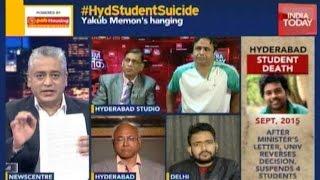 getlinkyoutube.com-News Today At Nine: Hyderabad Dalit Student's Suicide Note