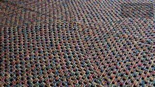 getlinkyoutube.com-How to Crochet a Never Ending Afghan using 1 Strand