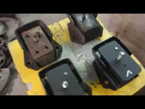 Подушки двигателя паджеро 2