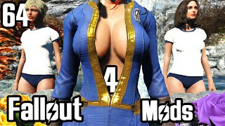 getlinkyoutube.com-Fallout 4 Mod Review 64 - Sexy Vault Suit and Japanese Gym Outfits - Boobpocalypse