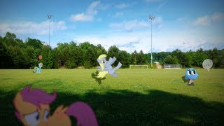 getlinkyoutube.com-MLP IRL: EVERYPONY DO THE FLOP! (Derpy Version)
