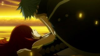 getlinkyoutube.com-Fairy Tail: Erza and Jellal kiss English Dubbed