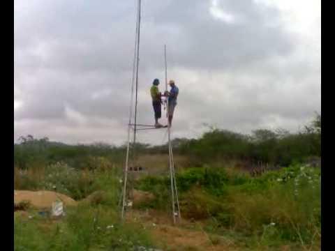 catavento montagem da torre (HB CATAVENTOS)