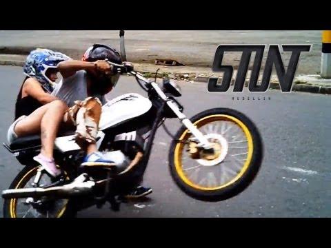 Stunt Medellin: Paola dando vueltas con Cepillo [Episodio #1]