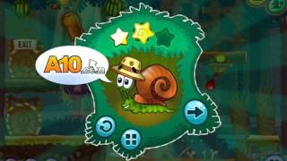 getlinkyoutube.com-Flash игра Улитка Боб 8 Островная история 1 серия games Snail Bob 8 Island Story