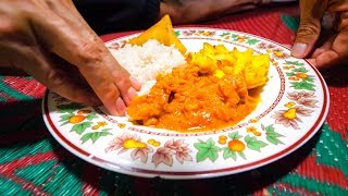 Authentic Swahili Food - UNBELIEVABLE CURRY MEAL in Lamu Island, Kenya!