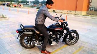 getlinkyoutube.com-Bajaj Avenger 220 street on road experience