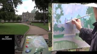 José SALVAGGIO plein air painting 45 Memories