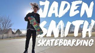 getlinkyoutube.com-Jaden Smith Skateboarding