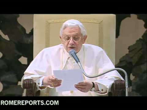 Pope talks about Saint Catherine of Siena and importance of spiritual maternity