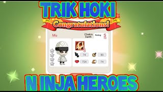 getlinkyoutube.com-Trik HOKI Ninja Heroes 99,99% EPIC!!