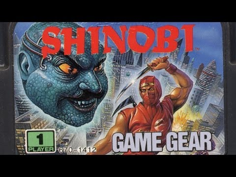 Classic Game Room - THE GG SHINOBI review for Sega Game Gear
