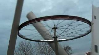 getlinkyoutube.com-windmill from wheel Bicycle