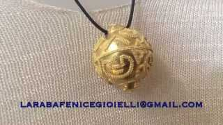L'ARABA FENICE ETRUSCAN GRANULATION GOLD JEWELRY
