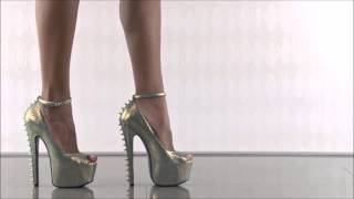 getlinkyoutube.com-Models and colors of high heels ❤