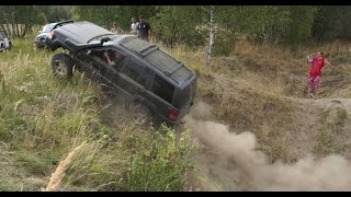 getlinkyoutube.com-Jeep Grand Cherokee ZJ 5.2L V8 - Offroad Milovice 3 (final jump)